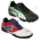 Boys Puma Trainers Kids Astro Turf Shoes Lace Up Football Boots Sports Smart New