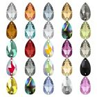 Genuine Swarovski 3230 Drop Pear Shape Crystal Sew on Stones *Pick Size & Colour