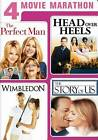 4 Movie Marathon: Romantic Comedy Collection DVD BRAND NEW |