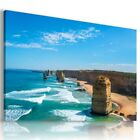 LANDSCAPE BEACH SEA SKY  Perfect View Canvas Wall Art Picture Large L551 X