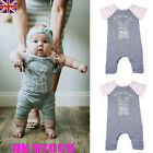 Newborn Baby Boys Girl Romper Outfits Clothes Sunsuit Bodysuit Rabbit Printed