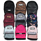 Victoria's Secret Pink Campus Backpack Bookbag School Bag Zip Pockets Vs New Nwt