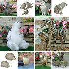 Animal Ornaments Home Decor Bear Pig Owl Sculptures Shabby Chic Resin Figures