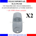 TELECOMMANDE CAME TOP432NA  D'ORIGINE FREQUENCE 433.92Mhz