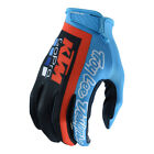 Troy Lee Designs 2018 KTM GoPro Team Licensed Air Gloves Navy/Cyan Youth Sizes