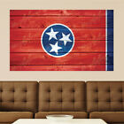 Tennessee Inform Distressed Wood Vinyl Wall Decal Sticker Graphic Art - 4 Sizes