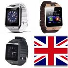 DZ09 Bluetooth Smart Watch For HTC Samsung Android Phone Camera SIM  UK C132