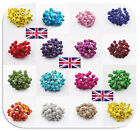 UK 40pcs Mini Christmas Foam Frosted Fruit Artificial Holly-Berry Flower C172