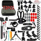 Action Camera Head Chest Mount Accessories Kit/box/Anti Fog Fr GoPro Hero2 3 4 5