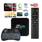 Z69 Android 7.1 Quad Core 3GB/32GB Bluetooth TV Box+Wirel...