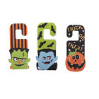 halloween decorations for haunted house - Halloween Hanging Decoration for Haunted House Bar Door Plate Embellishment
