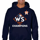 2017 World Series Champions Houston Astros MLB Pullover Hoodie Sweater Free WS
