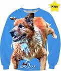 Kids Sweatshirt - All Over Print - with Your Pet Photo