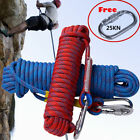 10-30M 10mm Static Rescue Rope Rock Climbing Rappelling Tree Arborist Cord New