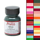 ANGELUS ACRYLIC LEATHER PAINT FOR PURSE LEATHER VINYL 1 OZ A