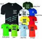PERSONALISED T SHIRT YOUR TEXT OR SIMPLE SINGLE COLOUR GRAPHIC