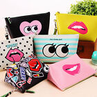 Pencil Case Storage Bag Pouch Makeup Bag Wash Bag Cosmetic Statinery Package Hot