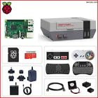 Raspberry Pi 3B Retroflag NESPi Case+ Plus Kit, Free Heat Sink & Fan Kit (Lot)