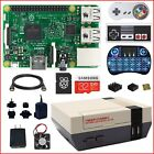 Raspberry Pi 3 Model B Mini Retroflag NESPi Kit, Free Heat Sink & Fan Kit (Lot)