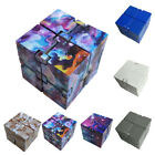 1PC Infinity Magic Cube Fidget Finger Anxiety Stress Relief Block Kids Toy Gift