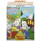 PARTY TIME WITH MAX & RUBY and AFTERNOONS WITH MAX & RUBY 2 DVDs 25 Stories EUC