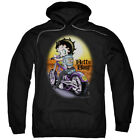 Betty Boop Wild Biker Pullover Hoodies for Men or Kids $26.39 USD