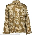 BRITISH ARMY DESERT SHIRT PRE 95 STYLE ZIPPED COMBAT JACKET PAINTBALLING AIRSOFT