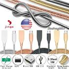 Heavy Duty Metal 1M Micro USB Data Sync Charger Cable For Jinga A400 / A502