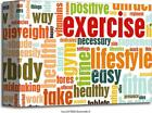 Exercise Art Print Home Decor Wall Art Poster - C