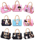 Cute Women Laptop Shoulder Carrying Case Messenger Bag for D