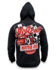 HOT ROD HELCAT JACKET HOODIE MOTOR OIL PENRITE VALVOLINE GREASE M L XL 2XL