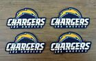 Iron On Sew On Transfer Applique Los Angeles Chargers Cotton Fabric Patches $4.99 USD on eBay