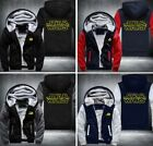 Star Wars Cosplay Coat Hoodie Winter Fleece Unisex Thicken Jacket Sweatshirt $44.99 USD