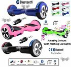 2 Wheels SELF BALANCING SCOOTER BALANCING BOARD Bluetooth LED Remote UK\