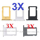 sim card of iphone 5s - Lot of 3 iPhone 5S | iPhone 5SE Sim Tray SIM Card Tray Holder iPhone 5 USA