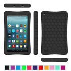 For New Amazon Fire 7 7th Gen 2017 ShockProof Silicone Case Kiddie Friendly Case
