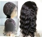 """8A Soft Body Wave 100% indian Remy Human Hair Front lace Wigs Baby Hair 8""""~22"""""""
