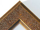 """2.3"""" Mayan Walnut Brown Solid Wood Canvas Picture Frame-Custom Standard"""
