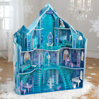 KIDKRAFT DISNEY FROZEN SNOWFLAKE MANSION DOLLHOUSE + 19 PIECES FURNITURE C68