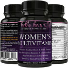 Daily Women's Multivitamin Supplement - Biotin, Vitamins A B C D E, Turmeric...