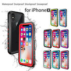 For iPhone X Redpepper Shockproof Waterproof Armor Hard Case Full Protect Cover