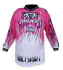 NEW Wulfsport Kids Pink Shirt (All Sizes) Motocross Jersey Youth Child Girl Quad