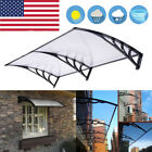 80''x40'' Door Window Outdoor Awning Polycarbonate Patio Sun Rain Cover Canopy cheap