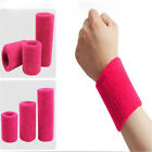 1 Pc Colorful Polyester Cotton Towel Sweat Wrist Bracelet Outdoor Sports