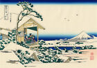 Great Wave Fuji Mountain Japan Paint Silk Canvas Poster Fabric Art Wall Decor U6
