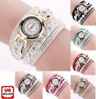 Fashion Women's Stainless Steel Bling Rhinestone Bracelet Wrist Watch Xmas Gift image
