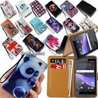 Leather Wallet Stand Magnetic Flip Case Cover For Various HTC One SmatPhones