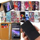 Leather Wallet Stand Magnetic Flip Case Cover For Various HTC One M7 M8 M9 Phone