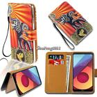 Leather Wallet Stand Magnetic Flip Case Cover For Various LG SmartPhones