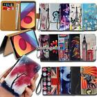 lg extravert cases - Leather Wallet Stand Magnetic Flip Case Cover For Various LG SmartPhones
